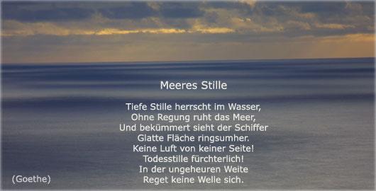 Gedicht liebe und meer